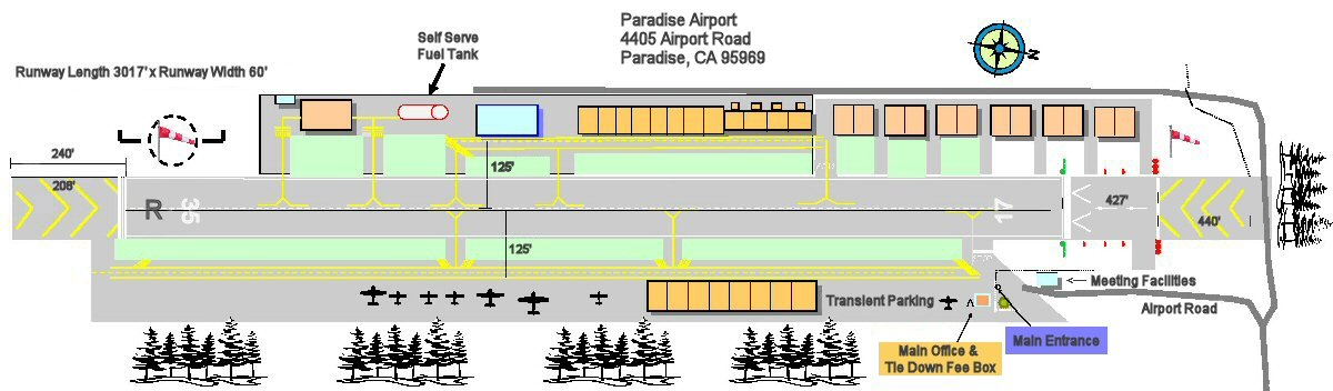 Paradise Airport Layout